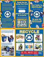 17 x 11 Recycling Brochure