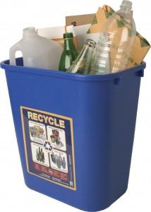 small recycle bin