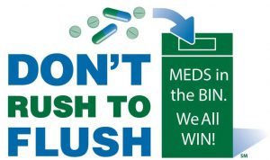 Dont flush meds