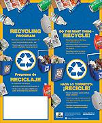 Recycling Doorhanger