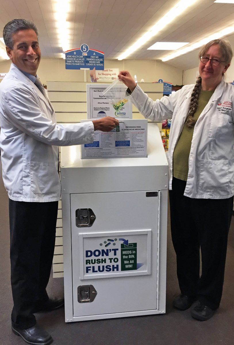 Don't Rush To Flush – No Drugs Down The Drain