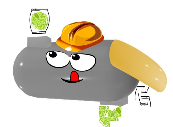 Depackager Mascot