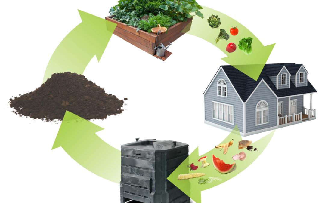 Aprenda & Gane un contenedor de compostaje – ¡En tres pasos!