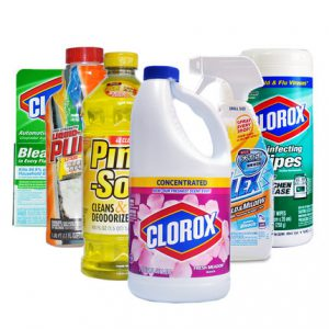 household cleaners - variety