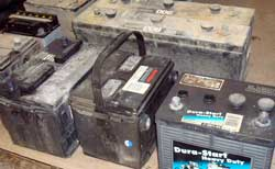 car batteries many