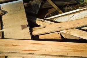 Desechos de construcción