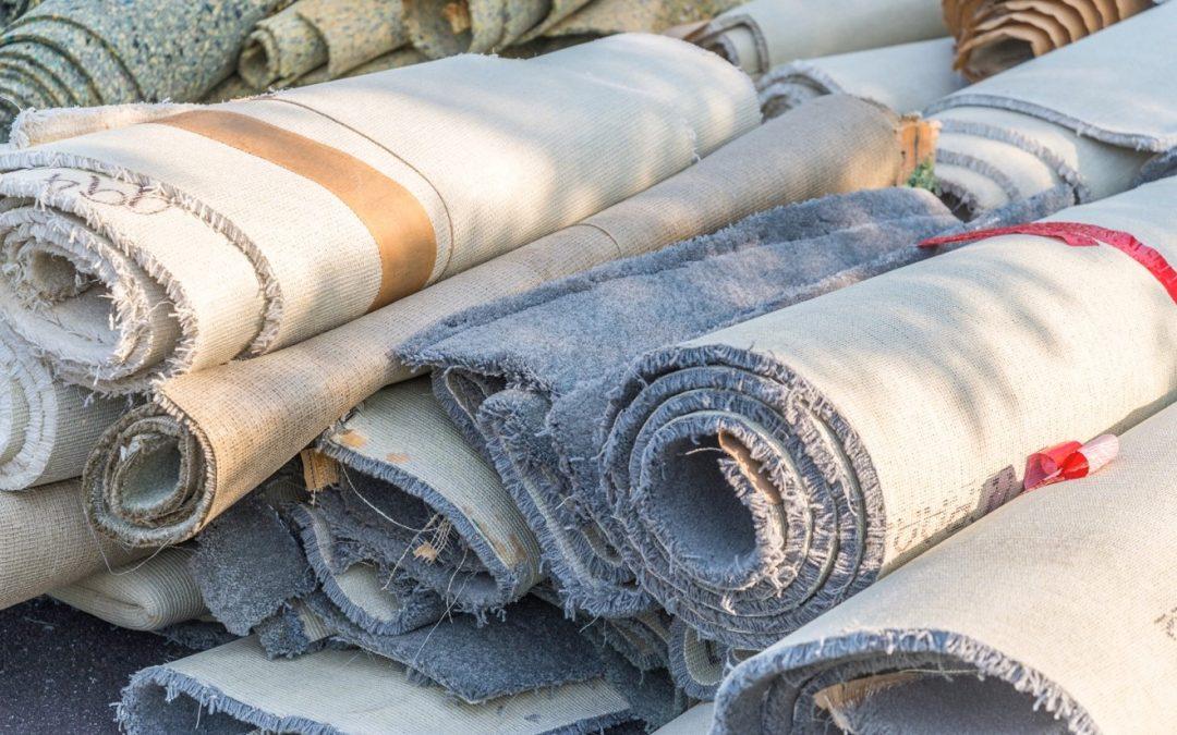 Hechos sorprendentes del reciclaje de alfombras