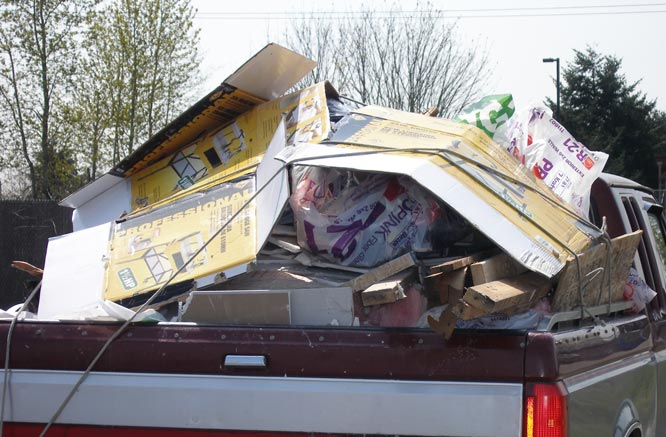 Tarp Your Load for Safety